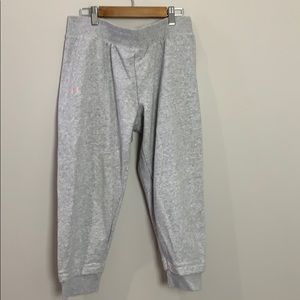 Under Armour grey cropped sweatpants